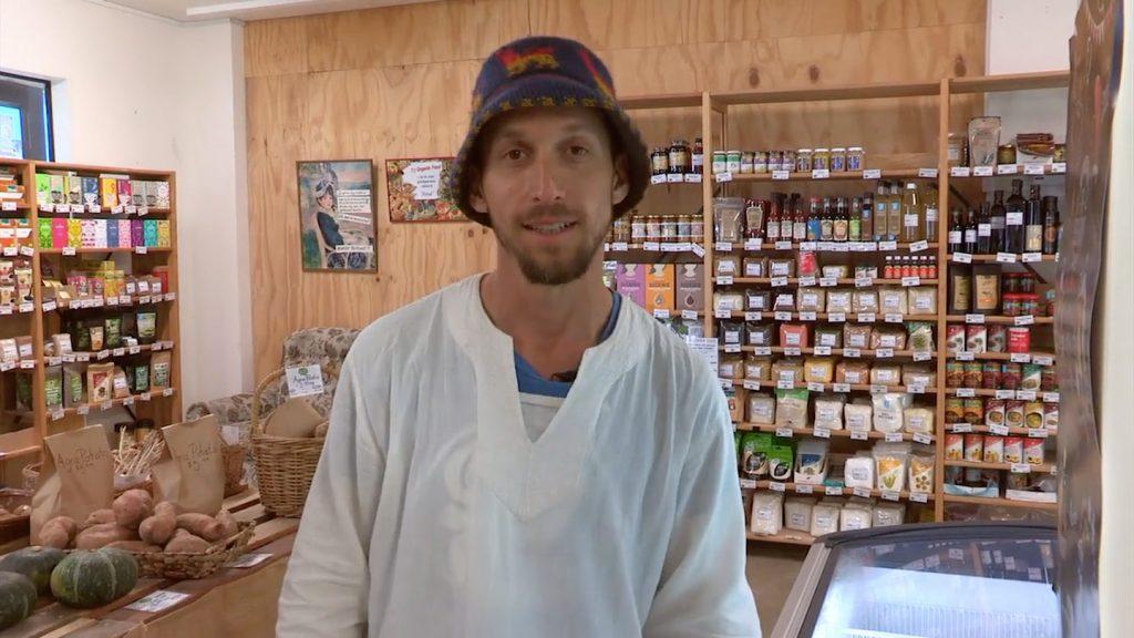 Jon Berczely of Whaaingaroa Organic Kai.